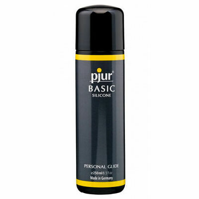 Pjur Basic Silicone Personal Glide Lubricant 250ml Intimate Massage Lube  (PJ-3)
