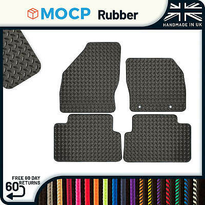 Custom Rubber Car Mats to fit Ford C-Max OEM Clips 2003-2011
