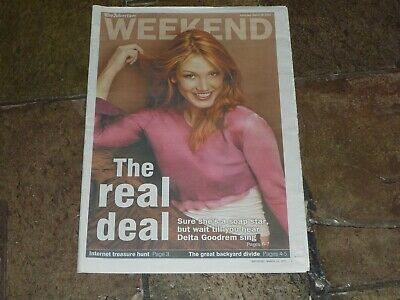 Delta GOODREM Advertiser (SA) Paper WEEKEND Lift-Out from March 29, 2003