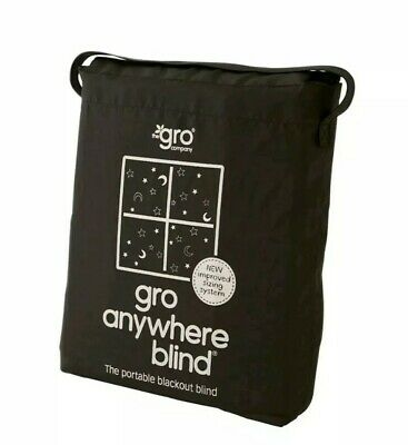 Gro Company Gro Anywhere Blind Star and Moon Design Baby Nursery Window Blackout