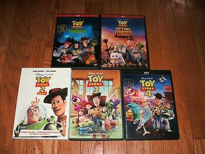 Disney's Toy Story trilogy + Terror & Time Forgot on DVD. 1, 2 & 3. Authentic.