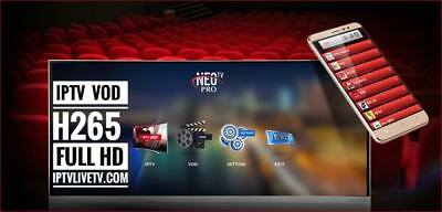 NEO TV PRO 2 - VOLKA IPTV 12 Months MAG Android M3U Smart TV & Laptop