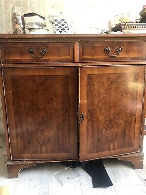 Large Late Georgian, Antique, Chest Of Drawers, Mahogany