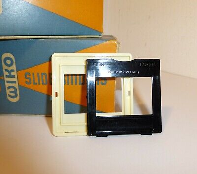 """2 BOXES of 20 WIKO , SLIDE MOUNTS for 35mm FILM ,  2 x 2""""."""