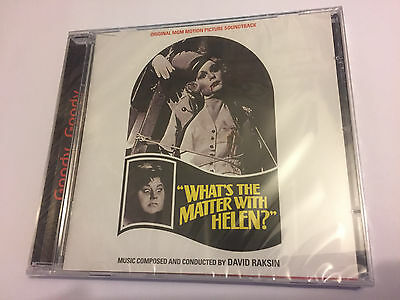 WHAT'S THE MATTER WITH HELEN? (Raksin) OOP Ltd Soundtrack Score OST CD SEALED