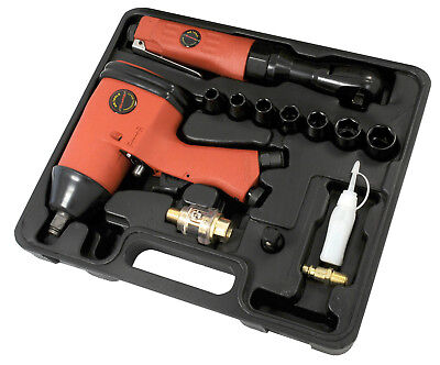 "CT0870 13pc 1/2"" Drive Air Tool Kit - Ratchet Impact Gun and Sockets"