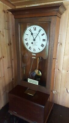 Rare Early 20th Century Gledhill Brook time recorder  serial number 7113