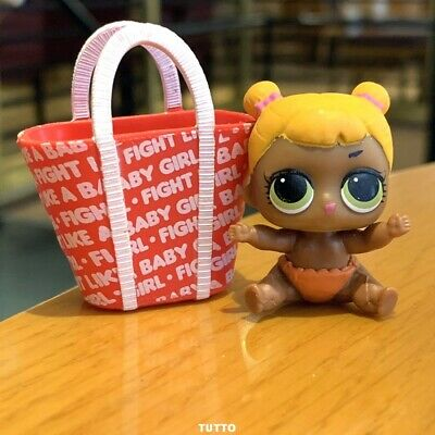 LOL Surprise LiL Sisters L.O.L.  BABY CAT SERIES 2 dolls toys With bag
