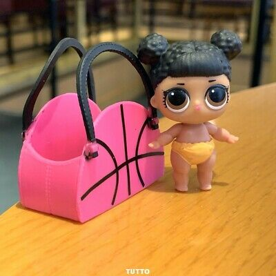 LOL Surprise LiL Sisters MVP hoops CLUB SERIES 2 COLOR CHANGE doll With bag