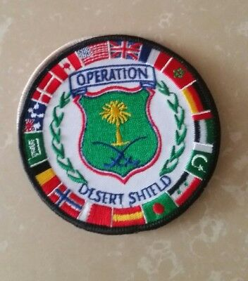 PARCHE  PATCH operation desert shield nato