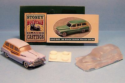 unfinished SMC-605 1950 Buick Super  HO-1//87th Scale White Resin Kit