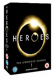 Heroes Season 1 (DVD, 2007, 7-Disc Set) Brand New And Sealed Free Postage