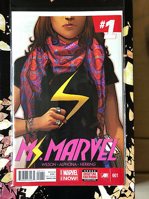 Ms Marvel #1 - Marvel Comics - 1St Print - Bn B&B 1St Kamala Khan As Ms Marvel