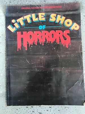 Little Shop of Horrors Original Motion Picture Soundtrack Piano Vocal Music Book