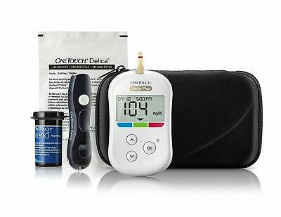 OneTouch Verio Flex Blood Glucose Monitor with Box of 10 Test Strips Free