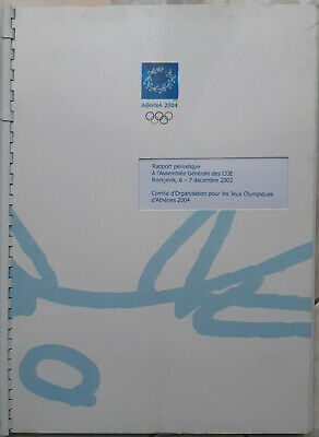 2002 Periodic report of the Organizing Committee of the Athens 2004 Olympic