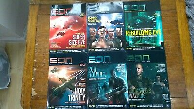 EON Magazine (EVE Online) all issues - like new condition