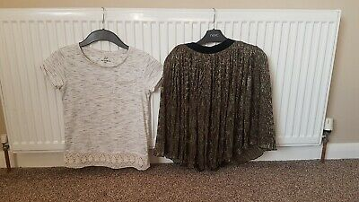 Girls Next Party Occasion Skirt And Top Set 8 Years excellent condition