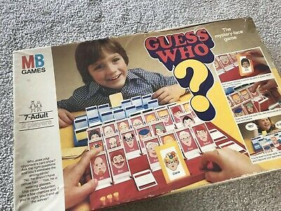 Vintage Guess Who Board Game  MB Games