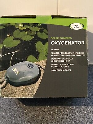pond feature Solar Powered Oxygenator By Smart Solar Aerates Ponds Sun Powered