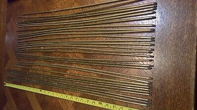Vintage brass stair rods - approx 29