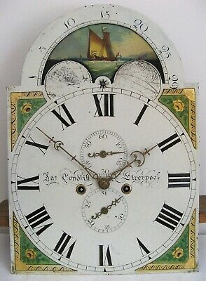 A Good Eight Day Longcase Movement - Condliffe of Liverpool - Complete.