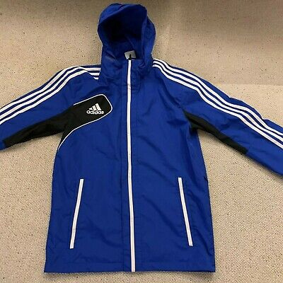c450a0a67355 Adidas Condivo 12 All Weather men s jacket in blue white black - medium size