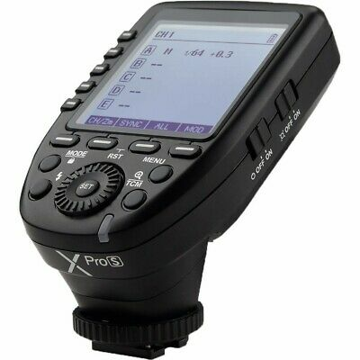 UK Godox Xpro-S 2.4G TTL LCD Wireless X System Transmitter Trigger for Sony