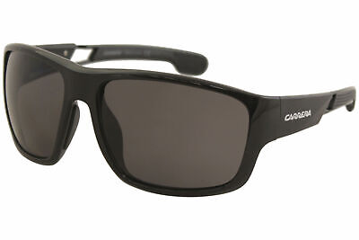 61b5c0541 Carrera Men's 4006S 4006/S 807M9 Black Rectangle Polarized Sunglasses 63mm