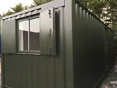 24 x 9ft Anti Vandal Site Office / Secure Cabin / Portable Building / Canteen