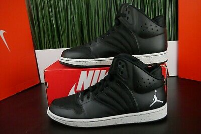 a3c7102e1ea7 Nike Jordan 1 Flight 4 Premium Men Black Basketball Shoes 838818-020 Multi  Size