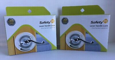 2 Safety 1st Lever Handle Lock Indoor Use