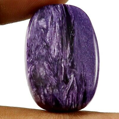 Charoite Natural Cabochon Oval Loose Gemstone 30.2ct HW18