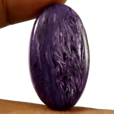 Charoite Natural Cabochon Oval Loose Gemstone 26ct HW20