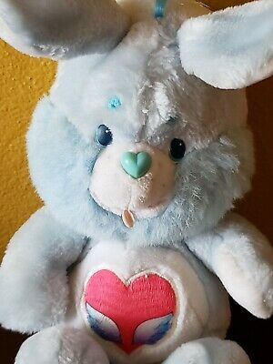 "1984 Vintage Swift Heart Rabbit 13"" (Care Bear Cousins) Original Authentic Bunny"