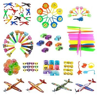 Party Bag Fillers Toys Gifts Boys Girls Prizes Birthdays School Loot Bubbles Fun