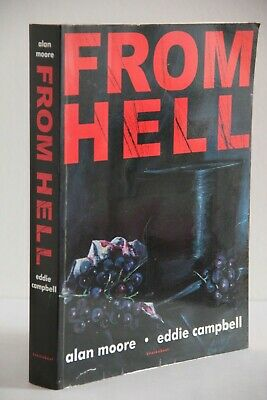 FROM HELL by Alan Moore, Eddie Campbell (Knockabout, Paperback, 3rd Print 2001)