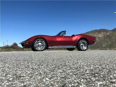 1970 Chevrolet Corvette Corvette Convertible C3 Manual 1970 Corvette Convertible 4-Speed Frame Off Restoration SEE FULL VIDEO