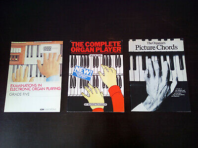 Electronic Organ Study Learning Instruction Book Collection