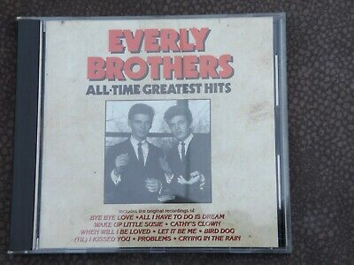 CD Everly Brothers All-Time Greatest Hits 10 Songs 1990 CURB Records