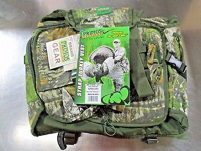 15ebed624bc8a NEW BANDED GEAR Turkey Series Hunting Vest Bottomland Camo Xl / 2Xl ...