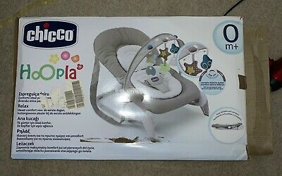 Chicco Hoopla Baby Bouncer and Rocking Chair, Legend - Complete with a Box
