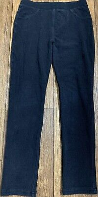 Copper Key Girls Black Stretch Jeggings w/ Pockets Size Large (9/10)