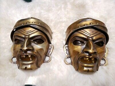 Original Pair 1930s Art Deco Pirate Coney Island Amusement Electric Wall Sconce