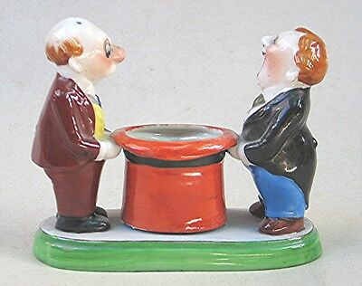 Vintage Trico China  Piece with 2 Men Standing Next to a Large Hat - Japan