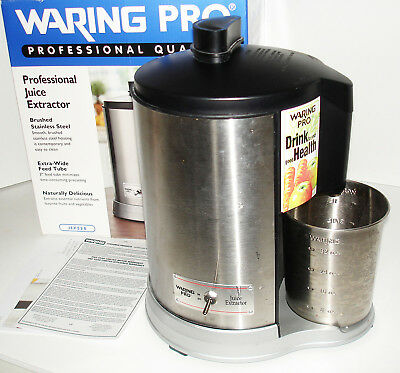 Waring Pro Professional Juice Extractor Jex328 In Box Very Powerful! Clean!