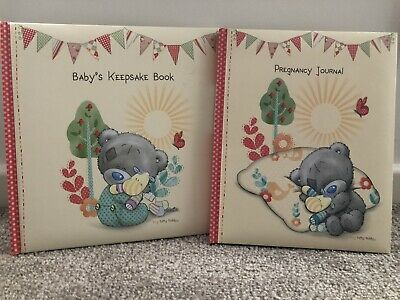Tiny Tatty Teddy Keepsake Book & Pregnancy Journal