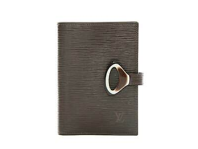 Authentic Louis Vuitton Agenda Fonctionnel PM Epi Z Mocha