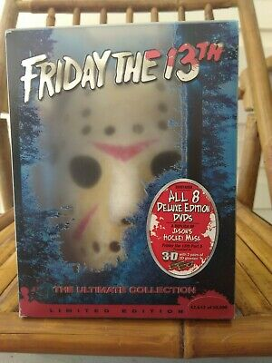 Friday The 13th The Ultimate Collection DVD Set Used