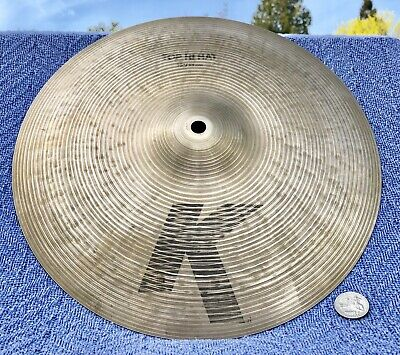 "2000 Zildjian K 13"" Hi Hat TOP Cymbal Natural Finish Jazz Funk Gospel K0821 EAK"